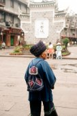 Minority of Fenghuang ancient city. — Stock Photo