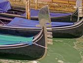 Condolas in Venice — Stock Photo