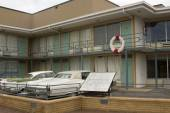 Site of MLK Assassination — Stock Photo