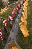 Rememberances at Soldiers Cemetery in Gettysburg — Stock Photo