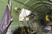 Gunner Turret Inside B-17G Bomber — Stock Photo