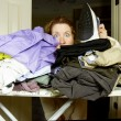 Buried in Ironing — Stock Photo #61464433
