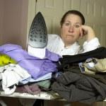 Piles of Ironing — Stock Photo #61464455