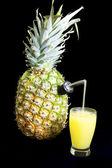 Fresh Pineapple Juice — Stock Photo