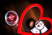 Valentines heart, love — 图库照片