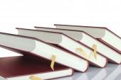 Books Isolated — Stock Photo
