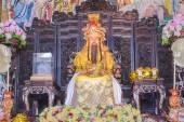 Buddha statue Emperor Jade Pagoda, Phitsanuloke, Thailand — Stock Photo