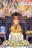 Buddha statue Emperor Jade Pagoda, Phitsanulokd, Thailand — Stock Photo