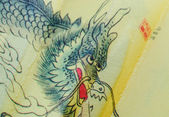 China dragon drawing — Foto de Stock