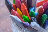 Crayons for painting — Stock Photo