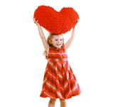 Love, mother's day, valentine's day, goodness and people concept — Stock Photo