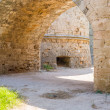 Ancient arc inside Rhodes old town, Greece — Stock Photo #58699111