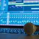 Home Recording Studio — Stock Photo #62287007