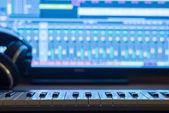 Home Recording Studio — Stock Photo