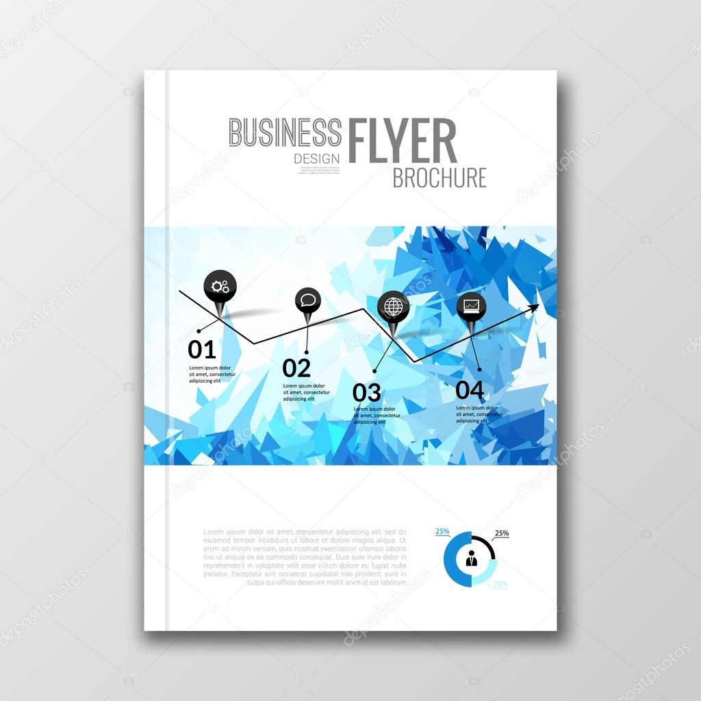 Business Deposit Book Cover : Business design background cover book report poster