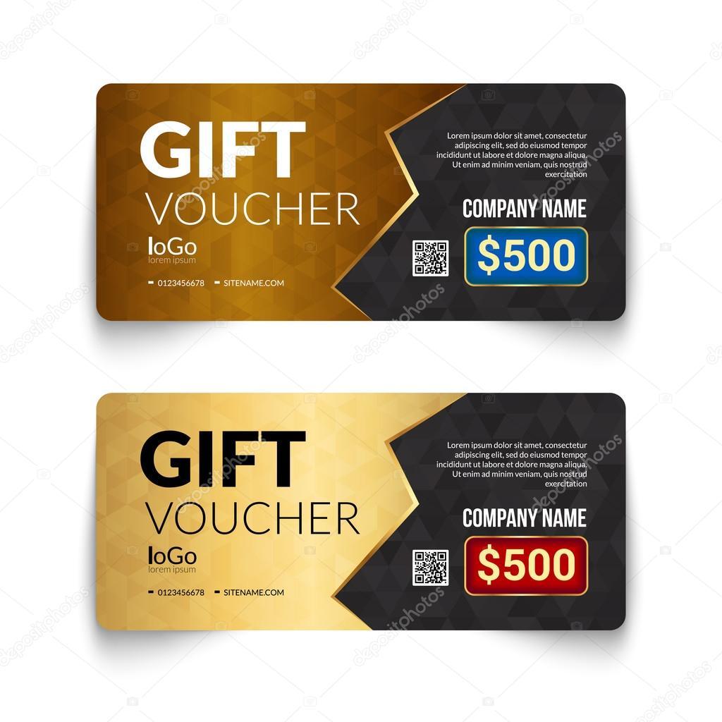 gift voucher template golden pattern design geometric gift voucher template golden pattern design geometric elemants gift voucher certificate coupon design