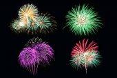 Firework pattern die-cut — Foto de Stock