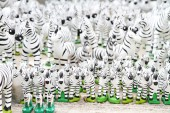 Zebra Dolls — Stock Photo