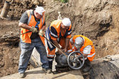Dismantling steel valves — Stock Photo