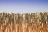 Wattle fence - privacy concept image with copy space — Stock Photo