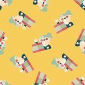 销售购物狂扁图标,eps10 无缝图案背景 — 图库矢量图片