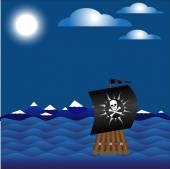 Jolly Roger — Stock Vector
