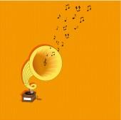 Grammophon — Stockvektor