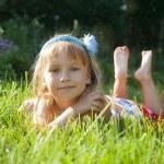 Girl in park — Stock Photo #51947641