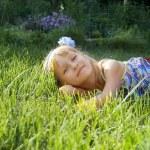 Girl in park — Stock Photo #51947679