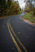Winding Moutain Road — Stock Photo