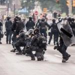 Riots near G20, June 26, 2010 - Toronto, Canada.  — Stock Photo #60463171