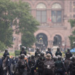 Riots near G20, June 26, 2010 - Toronto, Canada.  — Stock Photo #60463295