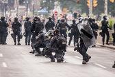Riots near G20, June 26, 2010 - Toronto, Canada.  — Zdjęcie stockowe