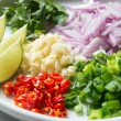 Thai spicy salad ingredient — Stock Photo #68422587