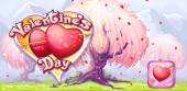 Banner for Valentines Day — Vector de stock