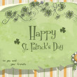Postcard to the day of StPatrick  — Stock Vector #63764547