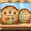 ������, ������: Example of window to pass the task level in game Wild West