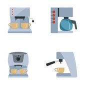 Máquina de café — Vetorial Stock