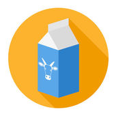 Pole mleka — Wektor stockowy