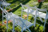 Wedding set up — Stockfoto