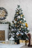クリスマスのインテリア — ストック写真