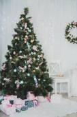 新年とクリスマス アイテム — ストック写真
