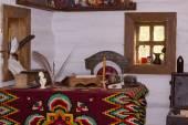 Interior Cossack home — Stock Photo