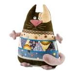 Decorative pillow cat — Stock Photo #63809923