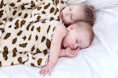 Two sleeping child — Stock Photo