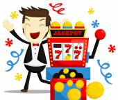 Jackpot Winning — Vecteur