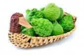Bergamot (Kaffir lime)  — Stock Photo