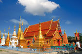 Buddhist temple — Стоковое фото