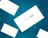 Blank Paper Box — Stock Photo