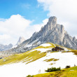 Italian Dolomiti - nice panoramic view of high mountains — Stock Photo #51908493